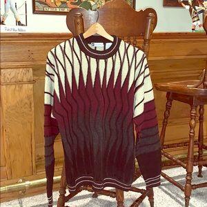 Vintage knit sweater Medium